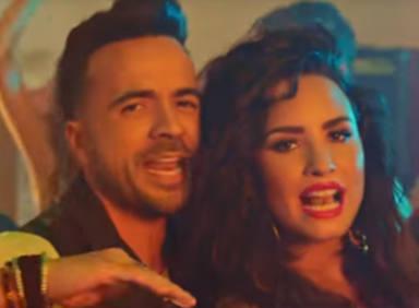 "Luis Fonsi y Demi Lovato, ""Échame la culpa"""
