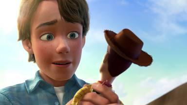 Andy se despide de Woody