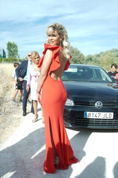 Ylenia Padilla en la boda de Belén Esteban