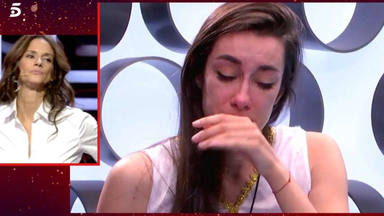 El arrepentimiento y las lágrimas de Adara en 'GH VIP' que admiten su error: ''la he liado''