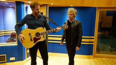 El príncipe Harry se cita con Bon Jovi en los estudios Abbey Road