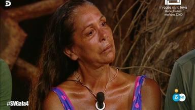 A las puertas de la final Isabel Pantoja se vio obligada a abandonar la isla
