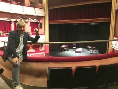 Carlos Sobera y el teatro que casi le arruina