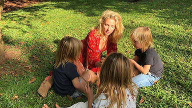 Elsa Pataky muestra lo valientes que son sus hijos