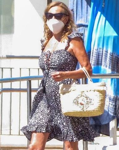Ana Obregón está en Mallorca