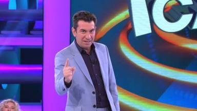 Arturo Valls se salta las normas de 'Ahora caigo' por primera vez