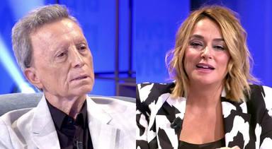 """El feo gesto de Toñi Moreno con José Ortega Cano en directo que pasó desapercibido: """"Pausa para publicidad"""""""