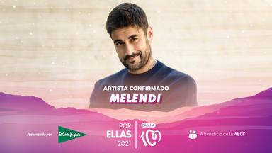 Melendi estará en el CADENA 100 Por Ellas 2021: nuevo artista confirmado