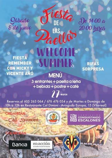 Welcome Summer Vila-real