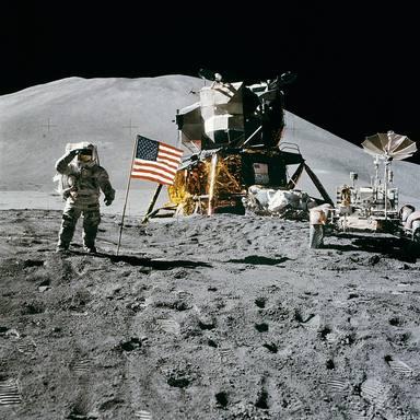 No és una llegenda urbana: Hi ha una estàtua a la Lluna
