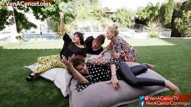 Loles León, Belinda Washington, Rosa Benito e Irma Soriano en 'Ven a cenar conmigo gourmet edition'