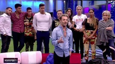 El grupo de Mila Ximénez en 'GH VIP' se posiciona en contra de Hugo Castejón
