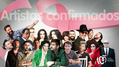Grandes artistas para cantar por una gran causa: CADENA 100 Por Ellas 2019 a beneficio de la AECC