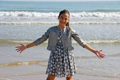 Así es Melani, nuestra representante en Eurovisión Junior 2019