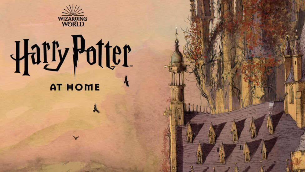 "J.K Rowling ha lanzado ""Harry Potter at HOME"""