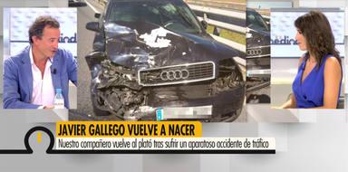 Ya es mediodía: Javier Gallego accidente hija