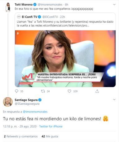 Viva la Vida: Toñi Moreno Santiago Segura