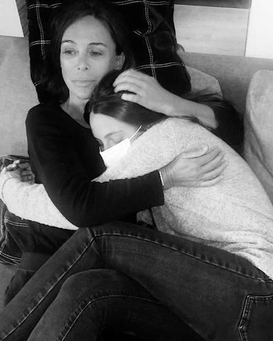 Cariñoso mensaje de Andrea Molina a su madre Lydia Bosch