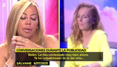 """Rosa Benito dicta sentencia tras los audios inéditos de Rocío Carrasco en 'Sálvame': """"No lo haces"""""""