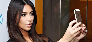 Kim Kardashian ya no puede hacerse selfies