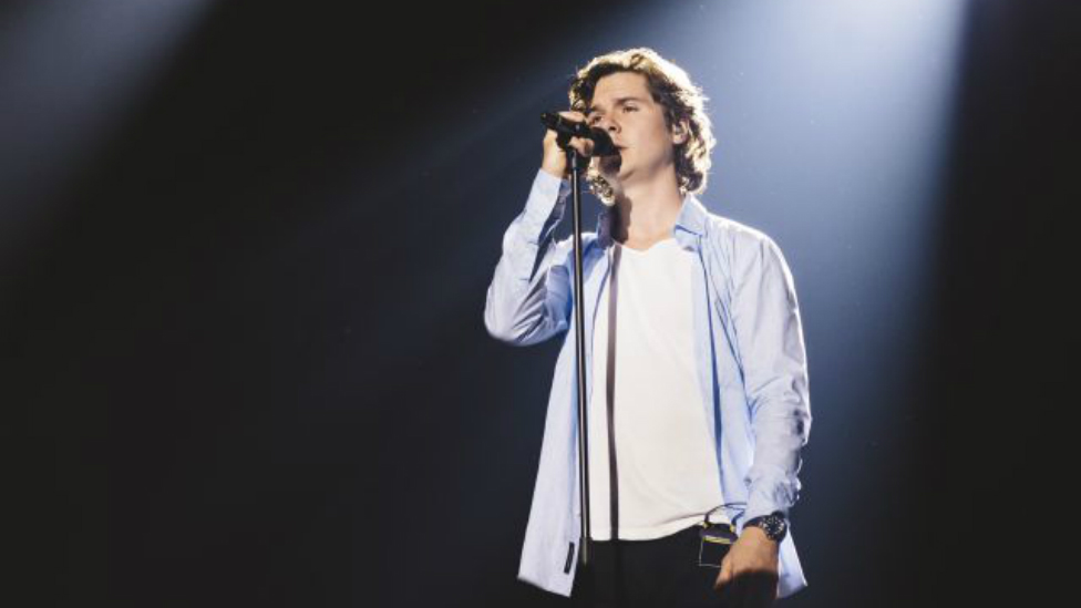 El romántico secreto de 'Here for Chistmas', el último single de Lukas Graham