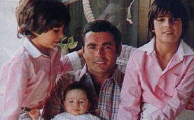 Paquirri junto a sus tres hijos: Fran, Cayetano y Kiko Rivera