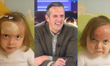"""La emoción de Joaquín Prat con las pequeñas Noa y Carla: """"Joder, cuánta lección de vida"""""""