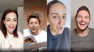 Los famosos cantan Color Esperanza por el coronavirus