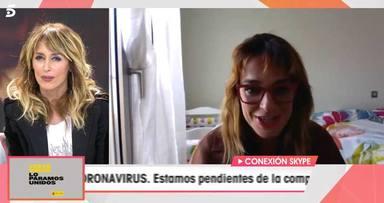 Toñi Moreno confiesa como está llevando la cuarentena