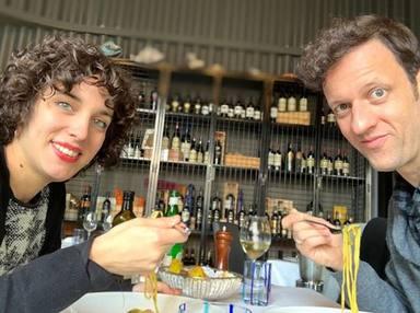 Edu Soto y Cristina Pascual, padres de su primer hijo