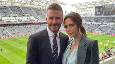 David Beckham y Victoria, en su mejor momento