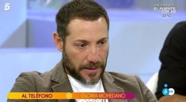 Antonio David rompe a llorar con la llamada de Gloria Mohedano a Sálvame