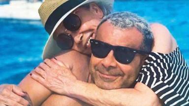Jorge Javier Vázquez y Mila están de viaje