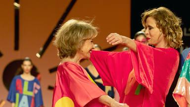 Agatha Ruiz de la Prada dedica premio a Mila Ximénez