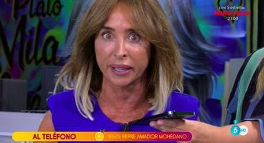 María Patiño habla del mal cuidado que está dando a la herida de su rodilla tras el resbalón en el 'Deluxe'