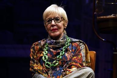 Concha Velasco durante la representación de 'La habitación de María' en el Teatro Reina Victoria de Madrid