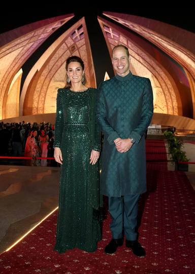 Los duques de Cambridge en su visita oficial a Pakistán