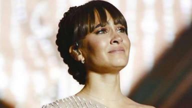 Las lágrimas de felicidad de Aitana al finalizar, con nota, su primer Palau Sant Jordi