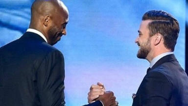 La emotiva carta de despedida del cantante Justin Timberlake con su amigo Kobe Bryant