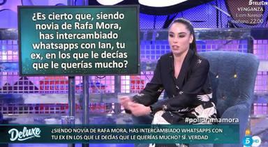 Macarena fue infiel a Rafa Mora con su expareja y se destapó en el Deluxe