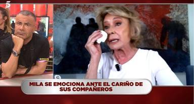 Las lágrimas de Mila Ximénez en su lucha contra el cáncer