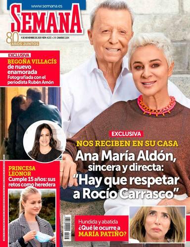 La comentada entrevista de Ana María Aldón hablando de Rocío Carrasco