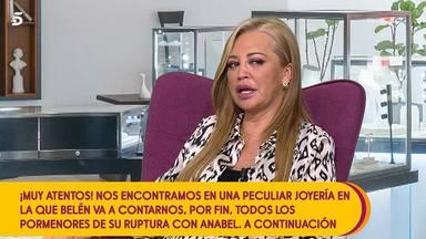 Belén Esteban joyas Anabel Pantoja conflicto