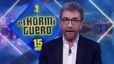 Pablo Motos hace llorar a Nuria Roca en pleno directo: ''Un toque diferente''