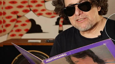 """Andrés Calamaró canta """"Lucía"""" de Serrat para el álbum """"Hijos del Mediterráneo"""""""