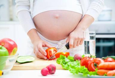 La dieta vegetariana durante el embarazo