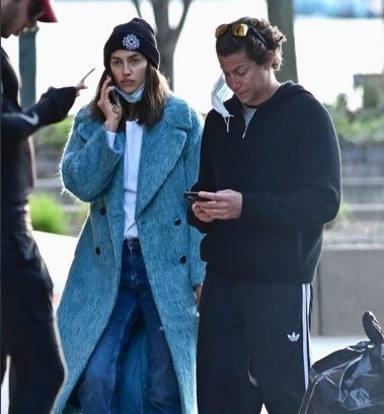 Irina Shayk, pillada con su nuevo amor en las calles de Nueva York