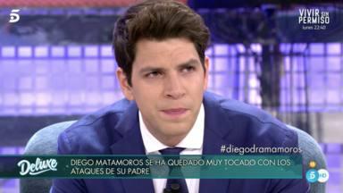 Diego Matamoros se distanció de su hermana Laura a raíz de una de sus entrevistas en el Deluxe