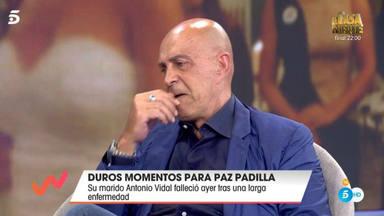 Kiko Matamoros al hablar de Paz Padilla en 'Viva la vida'