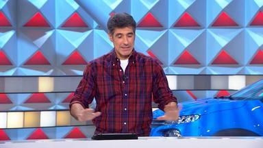 Jorge Fernández se salta las normas de 'La Ruleta de la suerte' con una concursante